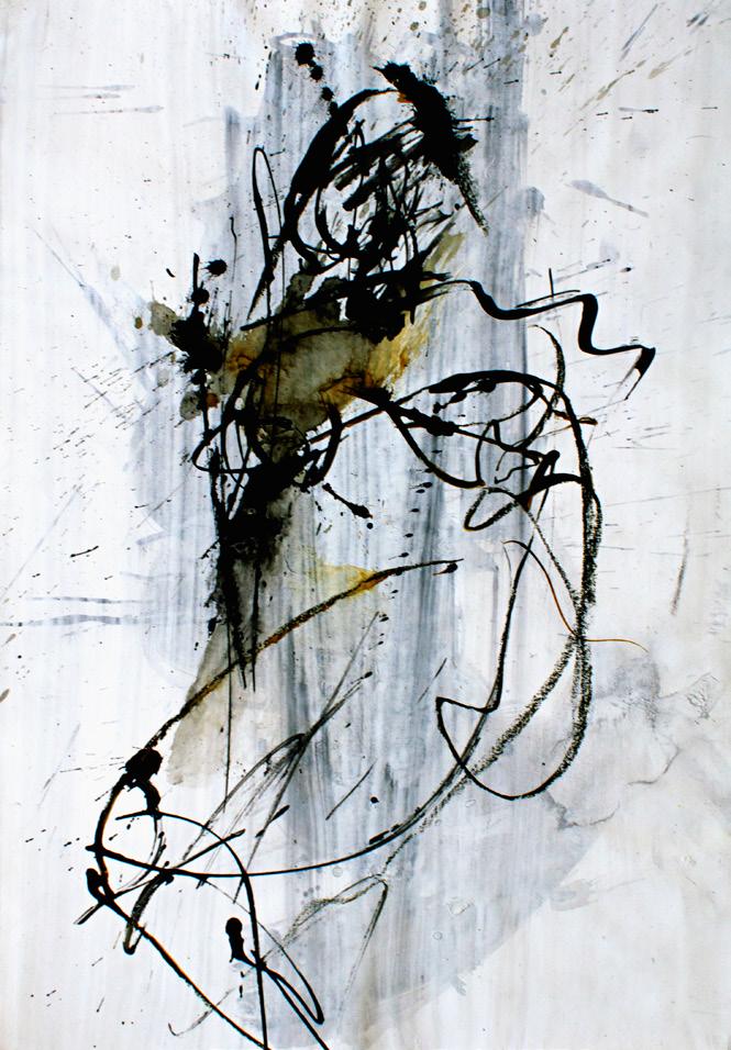 2008, Mischtechnik auf Papier, 42 x 30 cm
