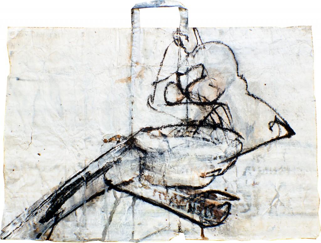2007, Mischtechnik auf Papier, 44 x 67 cm