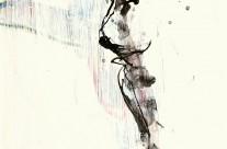 2009, Mischtechnik auf Papier, 50 x 35 cm