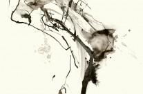 2009, Mischtechnik auf Papier, je 50 x 35 cm