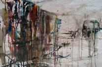 """""""Venedig"""" / Italien, 2011, Kohle und Tusche auf Packpapier, 44 x 62 cm"""
