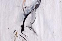 2010, Kohle und Tusche auf Packpapier, 62 x 44 cm
