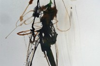 2014, Tusche auf Papier, 42 x 30 cm