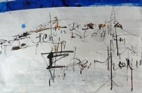 """""""Piran"""" / Slowenien, 2013, Mischtechnik auf Papier, 44 x 62 cm"""