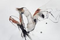 Kohle und Tusche auf Papier, 50 x 70 cm, 2016