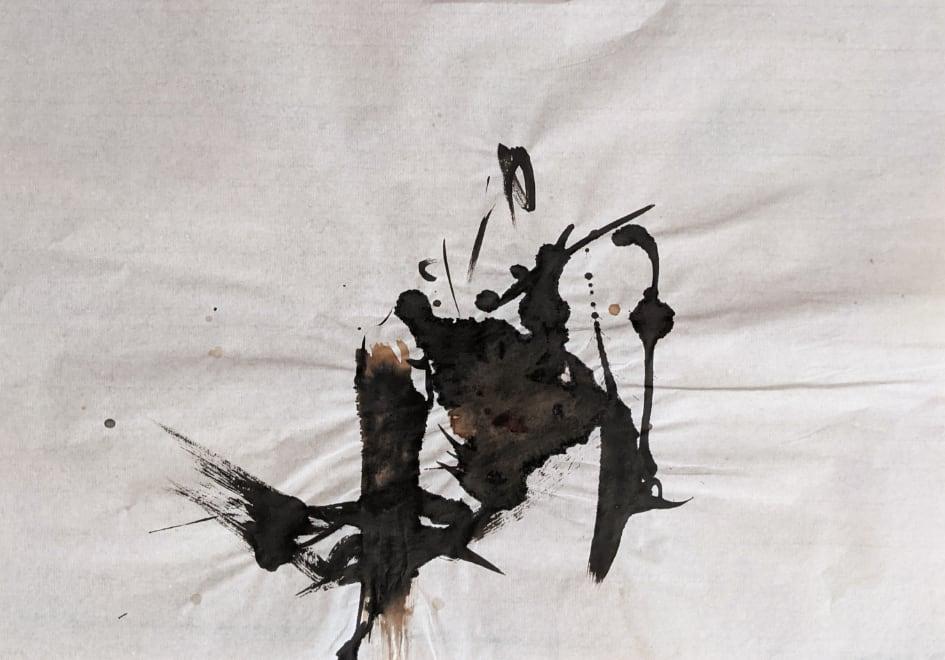 2021, Tusche auf chinesischem Xuan-Papier, 34 x 44 cm