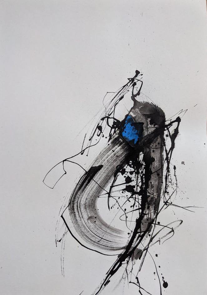 2021, Tusche auf Papier, 42 x 29 cm